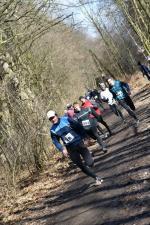 Twardziele pokonali trasę w Arboretum Bramy Morawskiej [ZDJĘCIA]