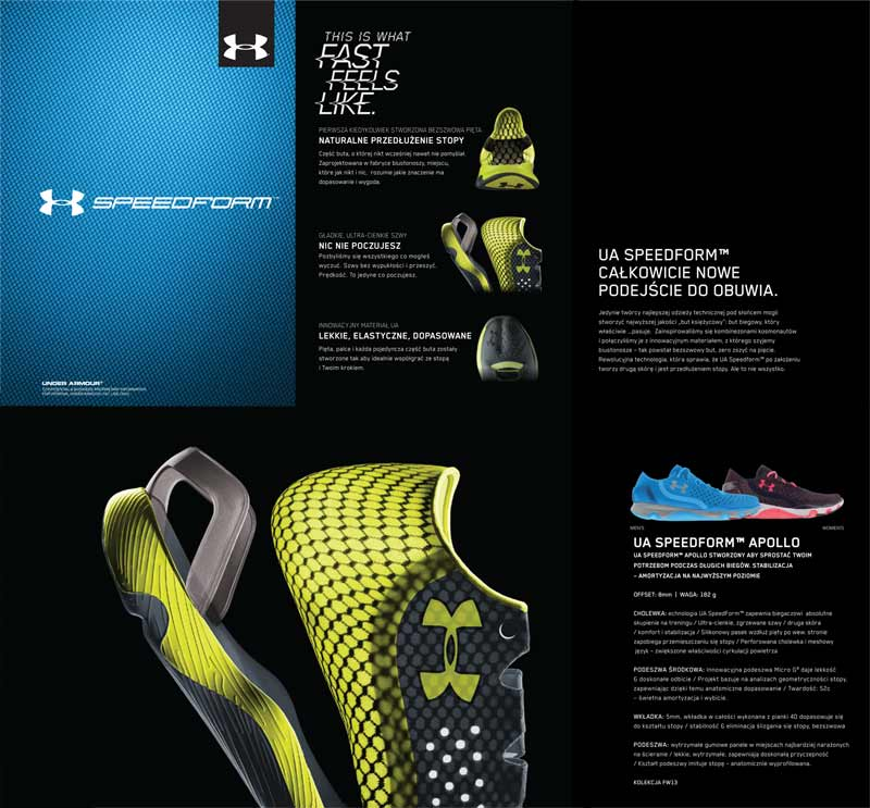 UA SPEEDFORM